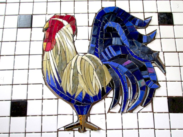 Rooster Close, ungrouted