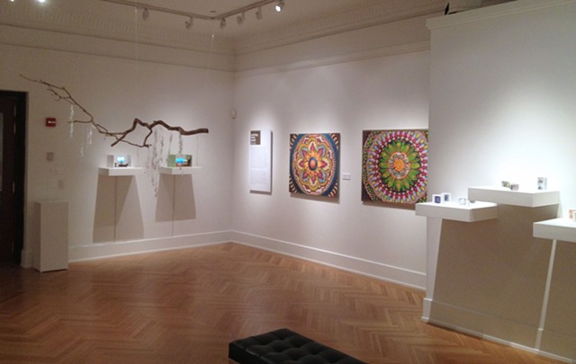 "Stone Canoe editors exhibition, ""Making Their Mark"" at Palitz Gallery, New York, NY, 2012-13."