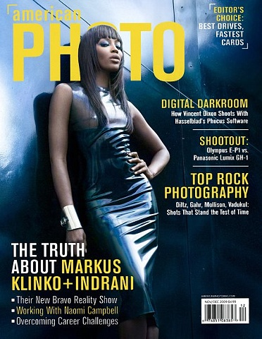 Image by Markus Klinko + Indrani Naomi Campbell for American Photo