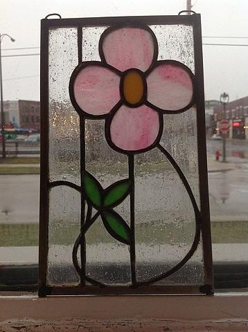 Art nouveau flower