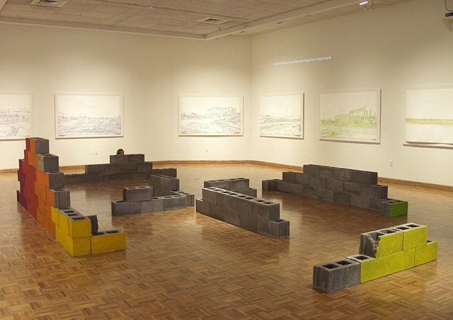 """Vision/Vision/Voice/Plan: Salina,"" Salina Art Center, Salina, Ks. 2009"