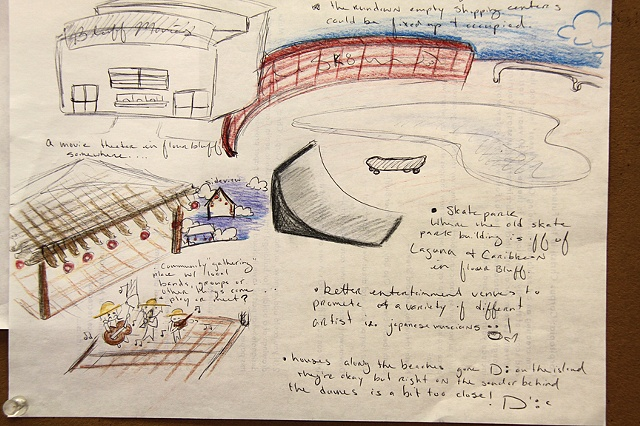 Flour Bluff HS student proposal for a skate park, Corpus Christi, Tx.