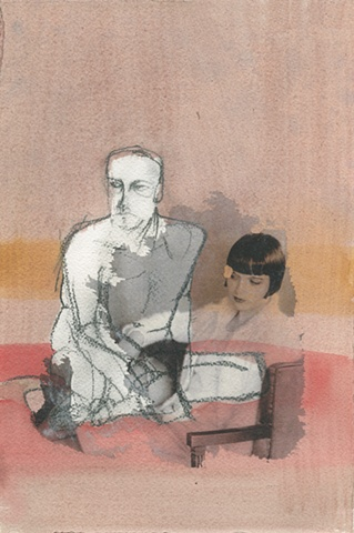 untitled (2 figures) 2011