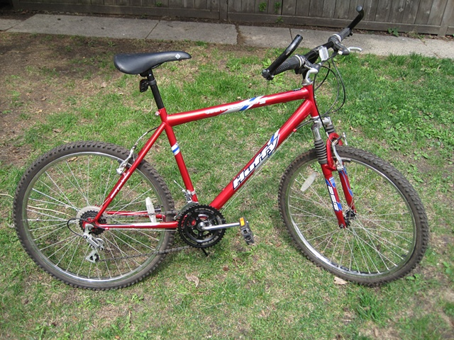 Huffy-mountain bike-18 speed