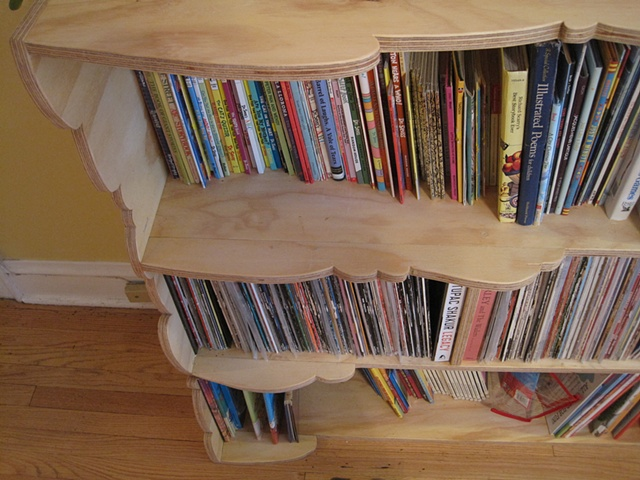 Record / Book shelf
