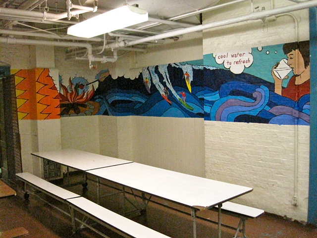 Funston School mural, Chicago