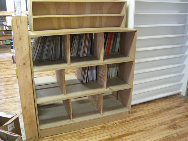 Record / Cd shelf #3 for Groove Distribution