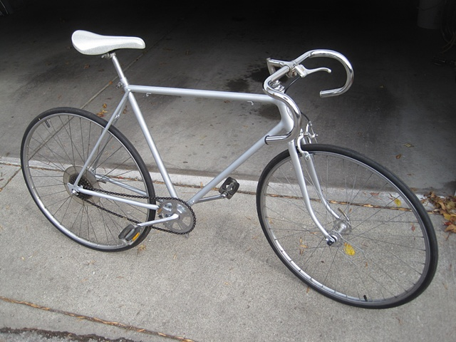 Schwinn-custom painted-road bike
