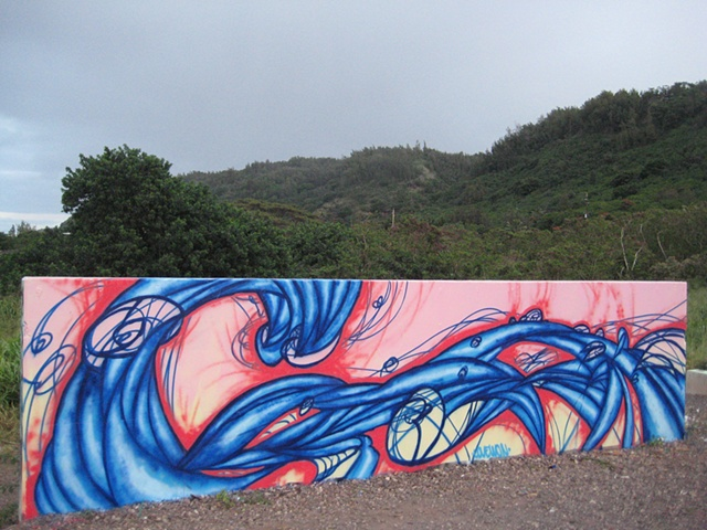 Banzaii Rock Skate Park Mural #2-final