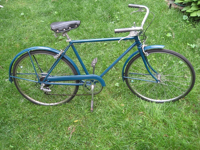 custom painted-Schwinn-Continental-5 speed