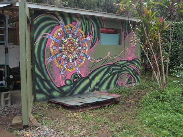 Art Farm Mandala Mural