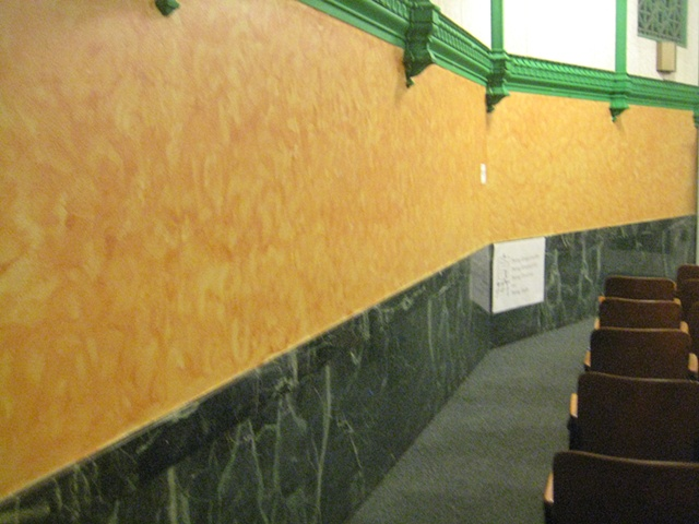 Auditorium Makeover- at mid-session