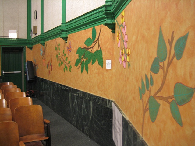 Auditorium Makeover- finished, detail