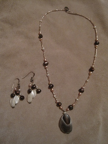Original Necklace and Earring set