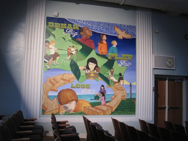 Orrington School Mural 2012