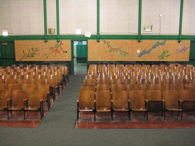 Auditorium Makeover- finished, far view