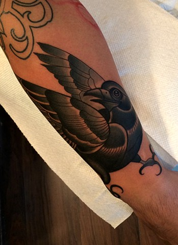 Daniel bird tattoo
