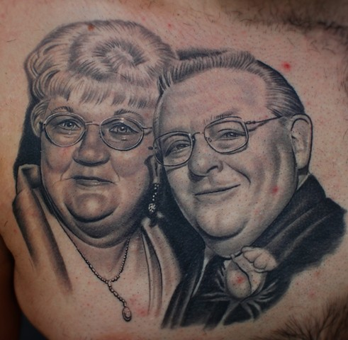 portrait tattoos by dave wah