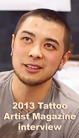 2013 Interview with Tattoo Artist Magazine at the Salt Lake City Tattoo Convention
