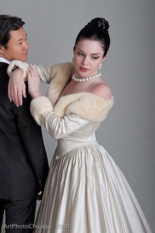 Bryan K. Osburn Wedding Dress 2010