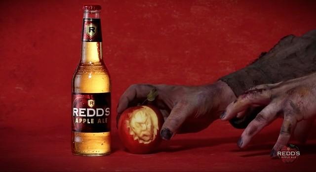 Redds Apple Ale Halloween Spot