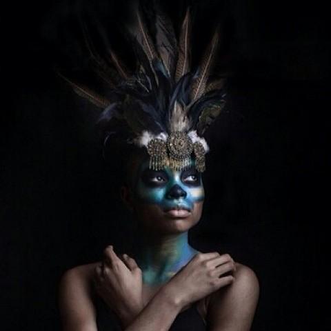 Queen Makeup and Headpiece by Jaime Dahms