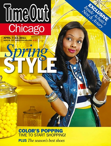Time Out Chicago Magazine Spring Fashion Issue April 7-13, 2011
