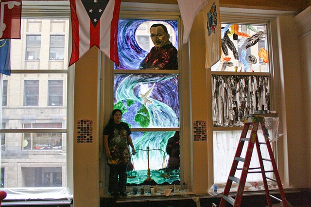 Martin Luther King Window Mural 6 of 6
