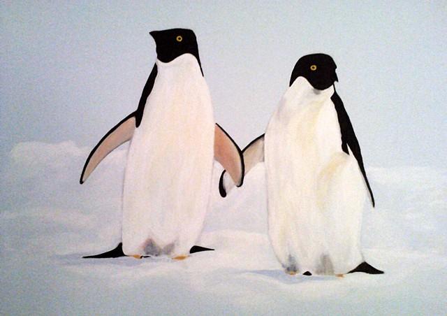 Penguins - Austen Mural