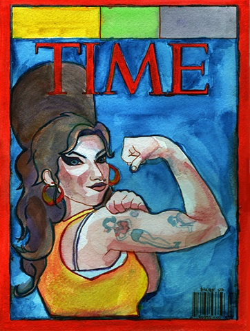 Amy Winehouse Time Cover