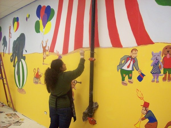 Kids Carnival Party Room1