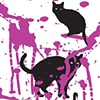 Cats in Paint