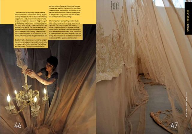 2010 MFA Thesis Exhibition Publication Sam Fox School of Design and Visual Art Washington University St. Louis