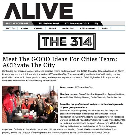Alive Magazine February 2012