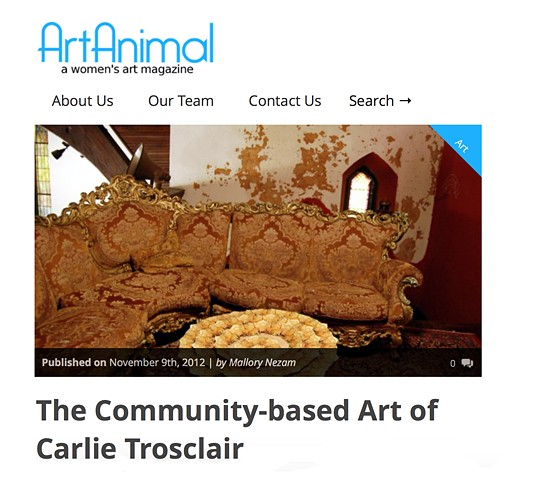 Art Animal Magazine November 2012