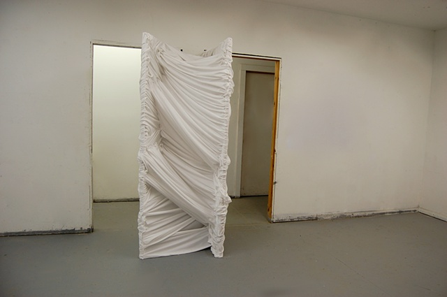 Inverse: The Space Between My Studio Doors Variation 3