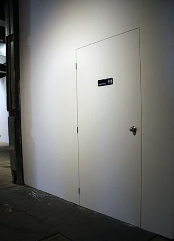 Poor Door: Prank Wall Drawing Detail