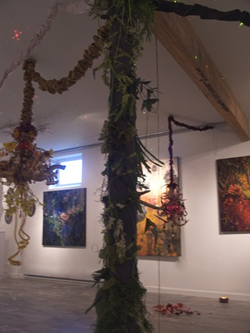 Alchemical Perception: Voices,Vimanas,Vibrations installation view 4