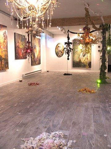 Alchemical Perception: Voices,Vimanas,Vibrations installation view 3