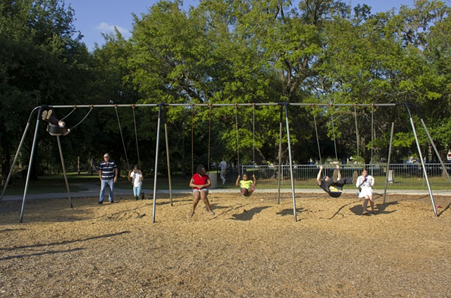 Swing Set-Riverside Park