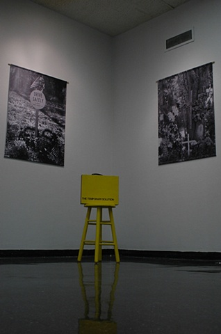Installation shot from exhibition @ Focus Gallery.  Gainesville, FL on campus of the University of Florida.