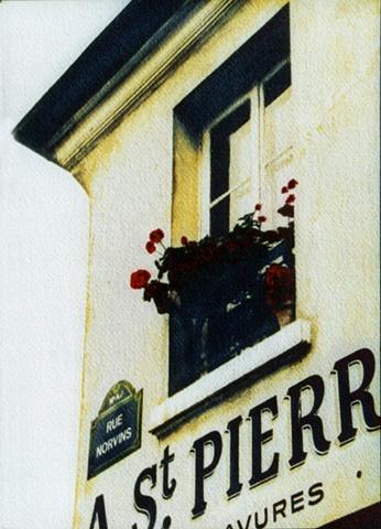 Rue Norvins, Montmartre - Paris