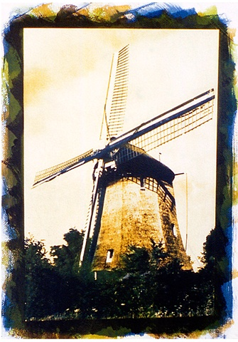 Windmill near Ankeveen - Holland