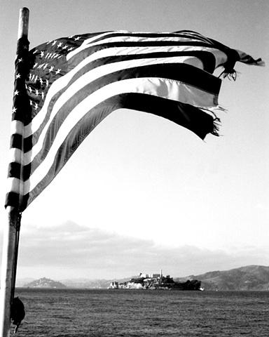 """""""Freedom"""" Alcatraz, San Francisco"""