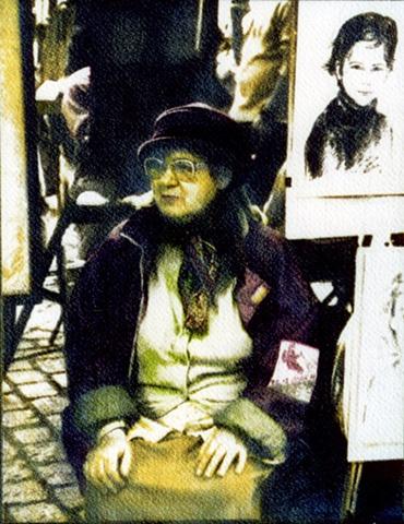 Portrait, MontMartre - Paris