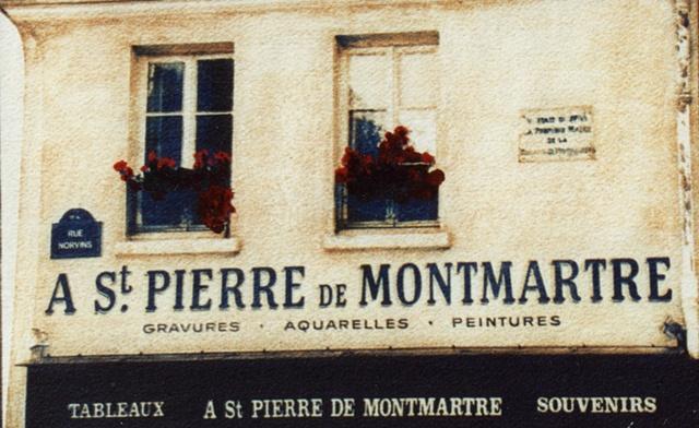 A St. Pierre de MontMartre, Paris