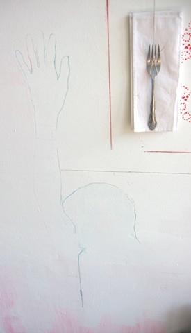 Studio wall painting Philadelphia