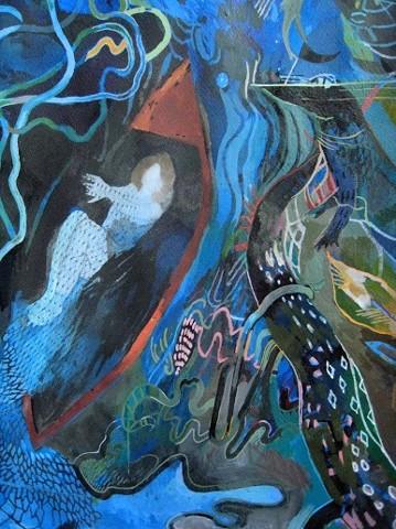 Nativity Dreams (detail)