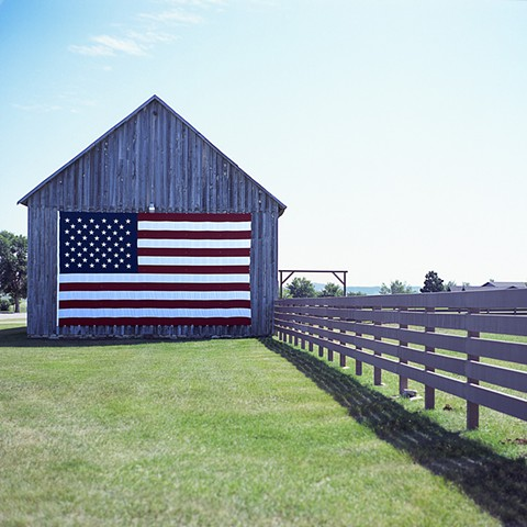Red, White and Barn - Spearfish, SD