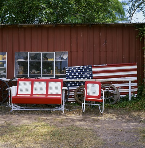 Red, White and Blue - Quanah, TX